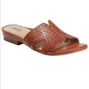 earth | Women's Mykonos Torlos Leather Sandals 9